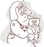 Conceito animal da alergia Imagens de Stock Royalty Free