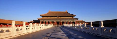 Conceito antigo da cultura chinesa da Cidade Proibida Imagens de Stock