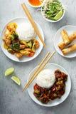Conceito asiático do alimento foto de stock royalty free