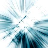 Conceito azul abstrato Imagem de Stock