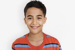 Conceito bonito adorável do retrato da criança de Little Boy fotografia de stock royalty free