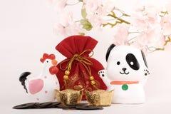Conceito 2018 chinês do ano novo Fotografia de Stock Royalty Free