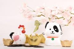 Conceito 2018 chinês do ano novo Foto de Stock Royalty Free