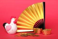 Conceito chinês do ano novo Imagens de Stock Royalty Free