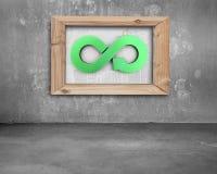 Conceito circular da economia Foto de Stock Royalty Free
