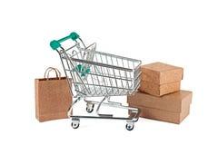 Conceito: compra na loja imagens de stock