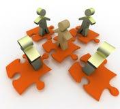 Conceito conceptual da liderança Fotos de Stock