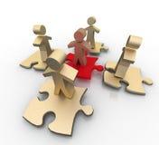 Conceito conceptual da liderança Imagens de Stock Royalty Free