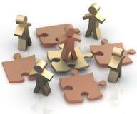Conceito conceptual da liderança Fotografia de Stock