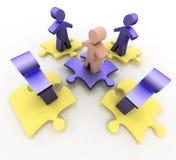 Conceito conceptual da liderança Foto de Stock