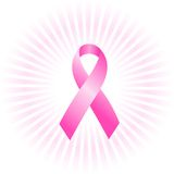 Conceito cor-de-rosa da fita Fotos de Stock