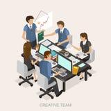Conceito criativo da equipe Imagem de Stock
