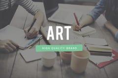 Conceito criativo de Art Style Impression Expression Imagination Imagem de Stock Royalty Free
