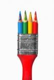 Conceito criativo do pincel Foto de Stock