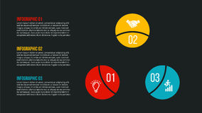 Conceito criativo para infographic Fotografia de Stock