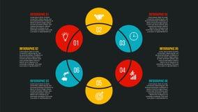 Conceito criativo para infographic Foto de Stock