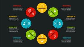 Conceito criativo para infographic Fotos de Stock