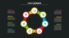Conceito criativo para infographic Imagem de Stock
