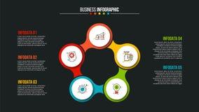 Conceito criativo para infographic Fotos de Stock Royalty Free