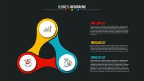 Conceito criativo para infographic Imagem de Stock Royalty Free