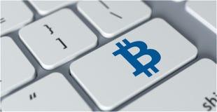 Conceito cripto da moeda Fotografia de Stock