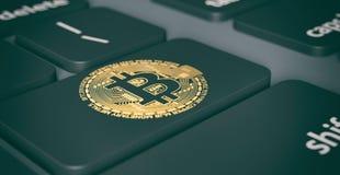 Conceito cripto da moeda Foto de Stock