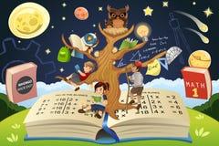 Conceito da árvore da educação Foto de Stock Royalty Free