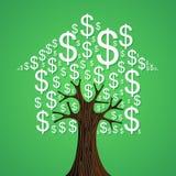 Conceito da árvore dos bens imobiliários Fotografia de Stock Royalty Free