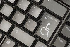 Conceito da acessibilidade do Internet Foto de Stock Royalty Free