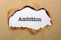 Conceito da ambição Imagem de Stock Royalty Free