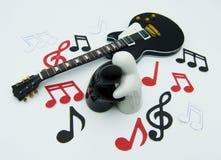 Conceito da amizade da música dos povos imagens de stock