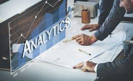 Conceito da análise do progresso SMO das estatísticas da analítica imagens de stock royalty free