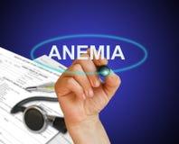 Conceito da anemia Fotos de Stock