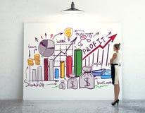 Conceito da apresentação do negócio Imagem de Stock