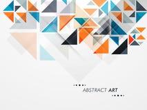 Conceito da arte abstrato Imagens de Stock