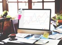 Conceito da avaliação da revisão dos resultados do feedback do negócio Foto de Stock