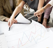 Conceito da avaliação da revisão dos resultados do feedback do negócio Foto de Stock Royalty Free