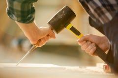 Conceito da carpintaria imagens de stock royalty free