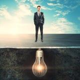 Conceito da carreira e da inovação foto de stock