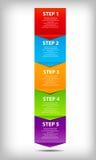 Conceito da carta das melhorias de processo do negócio. Imagens de Stock