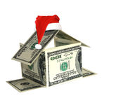 Conceito da casa do dólar Imagens de Stock Royalty Free
