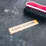 Conceito da casa ou do escritório da limpeza Imagens de Stock