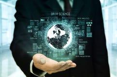 Conceito da ciência dos dados imagens de stock royalty free