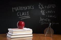 Conceito da classe da matemática Fotos de Stock