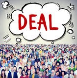 Conceito da colaboração da solução da cooperação da realização do negócio Imagem de Stock