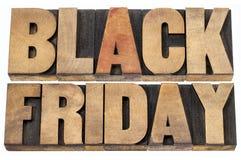 Conceito da compra de Black Friday Imagens de Stock
