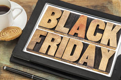 Conceito da compra de Black Friday fotos de stock royalty free