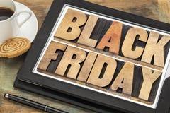 Conceito da compra de Black Friday Fotos de Stock Royalty Free