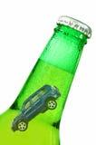 Conceito da condução em estado de embriaguês fotografia de stock