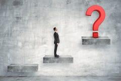 Conceito da confusão e da solução imagem de stock royalty free